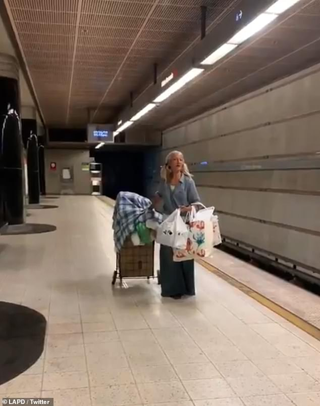 WATCH: Homeless Woman Shows Off Her Voice In The Subway
