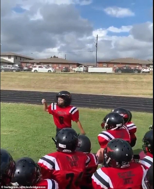 WATCH: Little Boy's Inspiration Football Speech Goes Viral