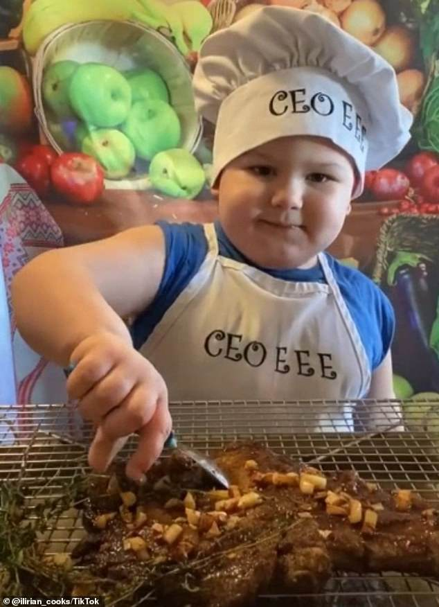 WATCH: 3-Year-Old Chef Shows Off His Amazing Cooking Skills