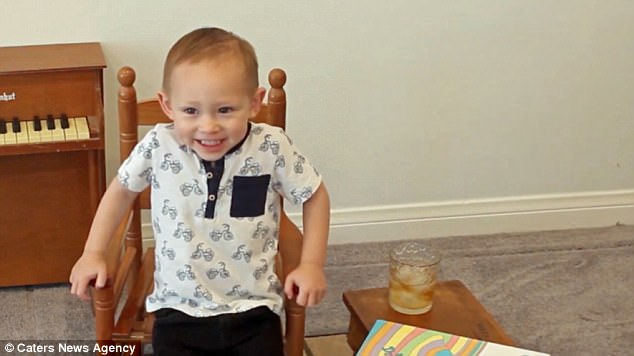 Adorable Toddler Announces He'll be a Big Brother