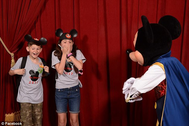 WATCH: Mickey Mouse Surprises 2 Foster Kids With New They Have Been Adopted