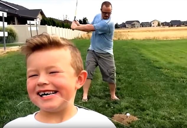 WATCH: A Dad Comes Up with Crazy Methods to Pull his Sons' Loose Teeth