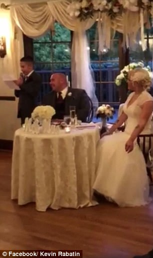 """WATCH: Grooms 10-Year-Old Son Gives the """"Best"""" Best Man Speech"""
