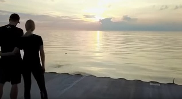 WATCH: Drone Crashes into a Couple Watching the Sunset