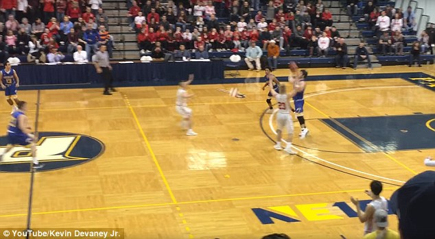 High School Basketball Player Wins State Basketball Game With 70ft Buzzer Beater In Final Seconds