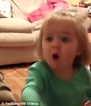 WATCH: Little Girl Yells 'No' Every Time Her Parents Kiss