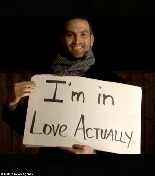WATCH: Man Edits A 'Love Actually' Scene To Ask Girlfriend To Marry Him