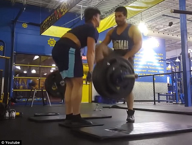 WATCH: Gym Member Attack 19-Year-Old Weightlifter For Making Too Much Noise