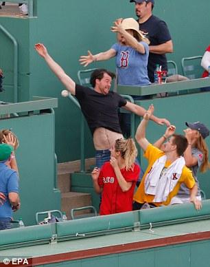WATCH: Red Sox Fan Hits Yankees