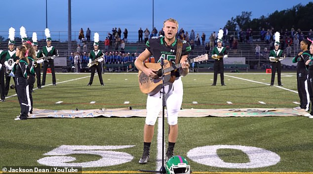 WATCH: High School Football Player's Unique Renditions Of The National Anthem