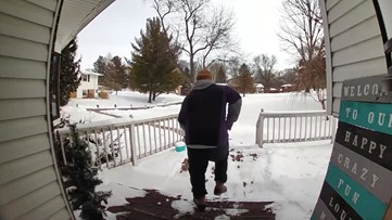 WATCH: Dancing FedEx driver brightens day in Greenfield