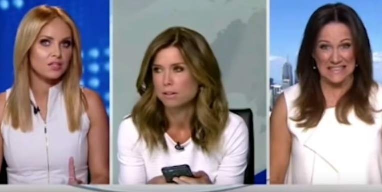 News Anchor Makes Colleague Put On A Jacket Before Segment