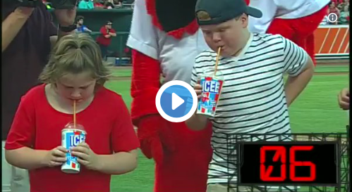 Kid Wins Icee-Chugging Contest… Gets Owned by Brain Freeze