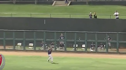 OKC Dodgers Outfielder Hits Home Run Off Of Opponent's Head