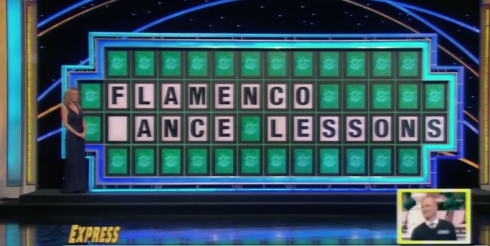 'Wheel Of Fortune' Contestant Mispronounces 'Flamenco' & It Was Spelled Out