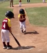 WATCH: Little Boy Runs In Slow Motion For Home Run