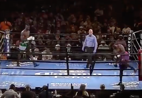 Boxer Walks OUT Of Fight As Soon As Opening Bell Rings