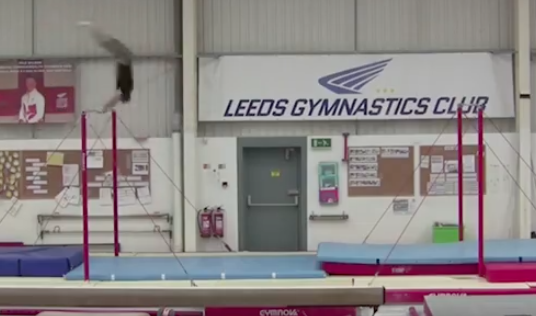 Gymnast Nails a Massive Backflip, Sets World Record
