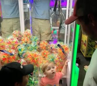 WATCH: 2-year-old Boy Gets Stuck Inside Claw Machine