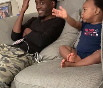 Father and Opinionated Son have an Animated