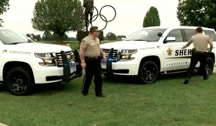 WATCH: Sheriff's Do The 'Git Up' Challenge