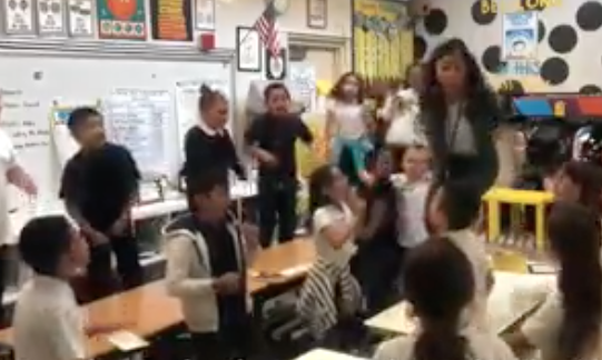 WATCH: Elementary Teacher Reworks Lizzo's 'Truth Hurts' To Encourage Teamwork