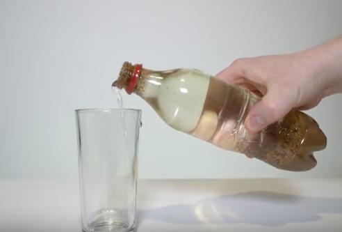 Milk Turns Coke Clear... It