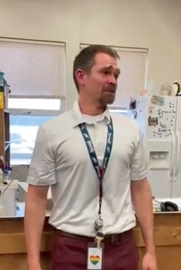 WATCH: Teacher Moved To Tears By Students Replacing His Stolen Shoes