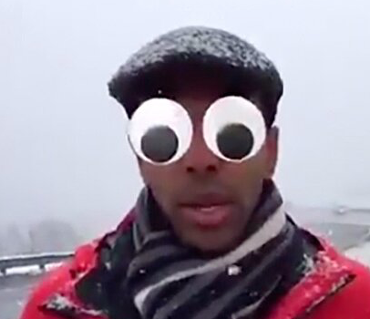WATCH: TV Reporter Turns On Hilarious Camera Filters By Accident Before Going Live On Facebook
