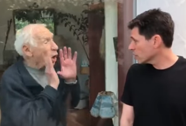 HILARIOUS: Mel Brooks Helps His Son Max Spread Important COVID19 Message