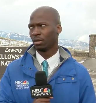 WATCH: TV Report's Reaction To A Herd Of Bison Coming Towards Him