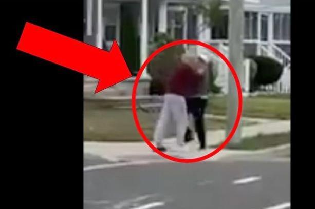WATCH: Two Elderly Men Get Into an Absurd Fight