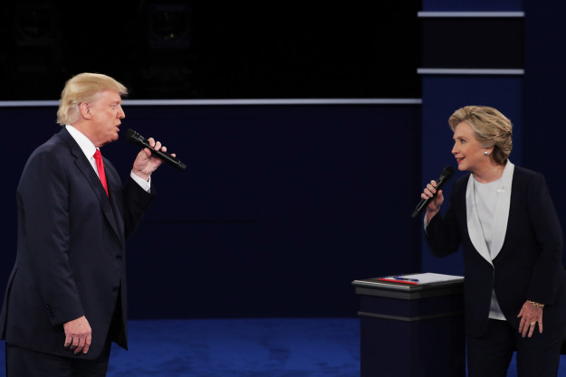 """WATCH: Hillary Clinton And Donald Trump Sing """"The Time Of My Life"""""""
